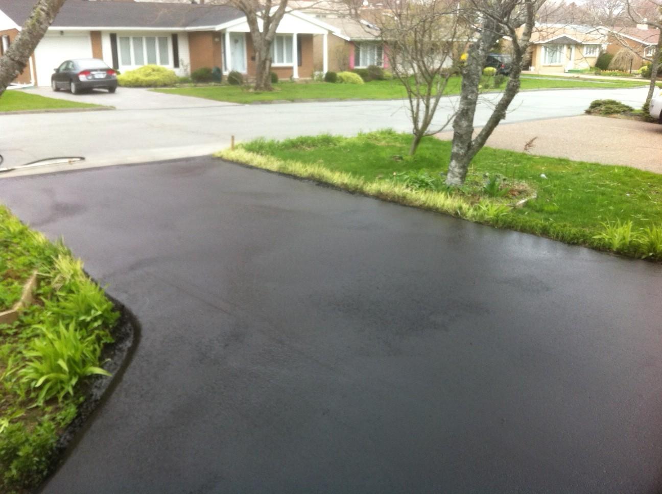 Driveway Sealed